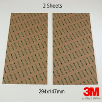 【3M】300LSE超強力両面テープシート×2枚多用途強力粘着(294×147mm)