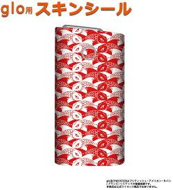 glo グロー スキンシール 全面 シール glo適合品 ステッカー フルセット 電子タバコ mitas mset-glos [和柄 鯉文様]