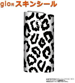 glo グロー スキンシール 全面 シール glo適合品 ステッカー フルセット 電子タバコ mitas mset-glos [豹 ヒョウ柄 アニマル]