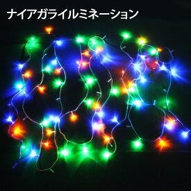 【ポイント10倍!11/20 23:59まで】クリスマス イルミネーション カーテンライト LED 1120球 1120灯 横高輝度 ナイアガラ ツララライト ディスプレイ オーナメント NIAGARA1120