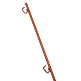 ロープスティック 1500 10本セット ロープピン ロープ用止め杭 ロープガイド 2段 送料無料
