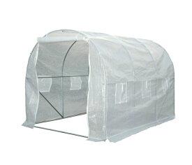小型ハウス 2坪 長さ300×幅200×高さ200cm 簡易ガレージ フラワーハウス 菜園ビニールハウス ビニールハウス