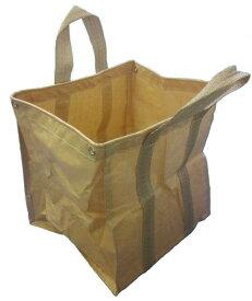 万能フゴ袋 1枚 55cm×55cm×高さ60cm ゴミ入れ 角底フゴ 造園 フゴ万能 廃材 袋