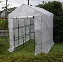 園芸用菜園ハウス 大 長さ214×幅143×高さ195cm 菜園ビニールハウス 温室ビニールハウス