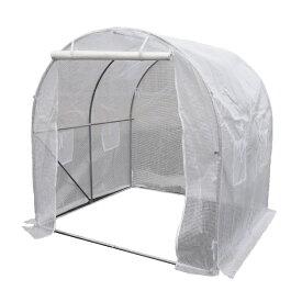 小型ハウス 1坪 長さ200×幅200×高さ200cm 簡易ガレージ フラワーハウス 菜園ビニールハウス ビニールハウス