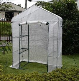 園芸用菜園ハウス 小 長さ73×幅143×高さ195 菜園ビニールハウス 温室ビニールハウス