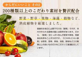 【お買い得】コンブチャ+酵素配合ドリンク720ml×2本セット送料無料KOMBUCHA+KOUSO酵素ドリンクダイエットドリンク