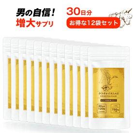 【圧倒的なクラチャイダム含有量】クラチャイダムAZ 30日 120粒入【12袋セット】送料無料 日本製 ゴールド サプリメント クラチャイダムサプリ 国産 お買い得 クラチャイダム