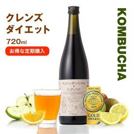【定期購入】コンブチャ+酵素ドリンク KOMBUCHA+KOUSO 720ml