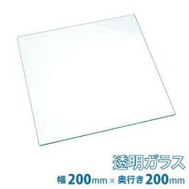 (200×200mm) 普通ガラス 厚み5mm / フロートガラス 普通ガラス 透明ガラス ソーダガラス 青板 普通 透明 ガラス ガラス板 板ガラス 硝子 硝子板 板硝子 DIY 素材 単品 セット
