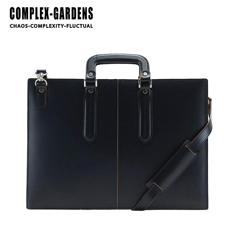 青木鞄 コンプレックスガーデンズ COMPLEX GARDENS 2WAY ビジネスバッグ 40cm A4サイズ 3方開き 枯淡 コタン 3703