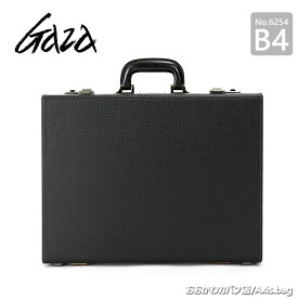【革ケアキット/防水スプレー どちらかプレゼント!】青木鞄 GAZA メンズ アタッシュケース ビジネスバッグ B4 6254 ブラック
