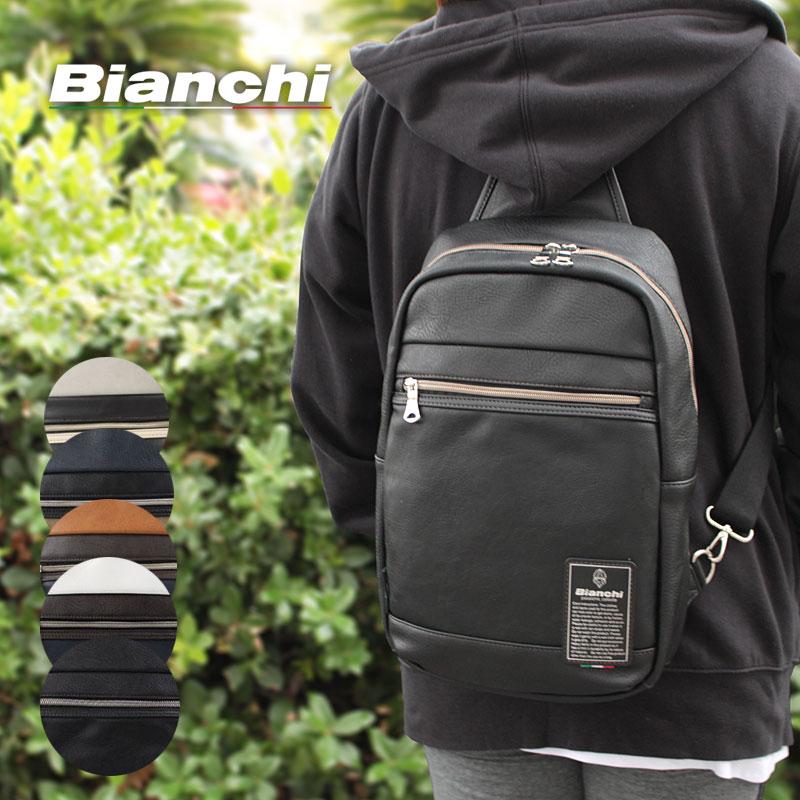 ビアンキ Bianchi 2WAYボディバッグ リュックサック リュック Maestosita マエストシータ TBPI19