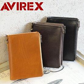 アビレックス アヴィレックス AVIREX 縦型 二つ折り財布 財布 BEIDE バイド AVX1804メンズ レディース サイフ ギフト プレゼント