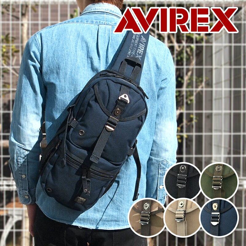 アビレックス(アヴィレックス) AVIREX ワンショルダーバッグ ボディバッグ EAGLE イーグル AVX305