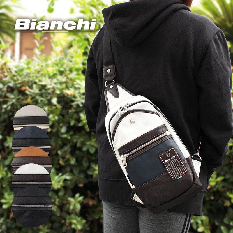 ビアンキ Bianchi ボディバッグ ワンショルダーバッグ Maestosita マエストシータ TBPI02