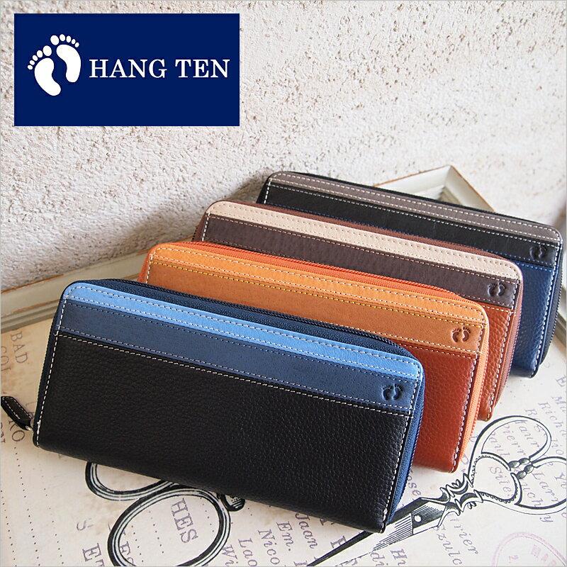 ハンテン HANG TEN ラウンドファスナー長財布 財布 61HT02