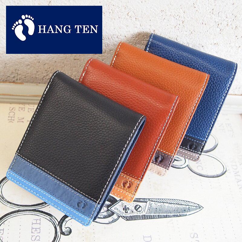 ハンテン HANG TEN 二つ折り財布 財布 61HT03