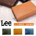 Lee リー 二つ折り財布 財布 サイフ メンズ レディース レザー 0520266【メール便配送商品】