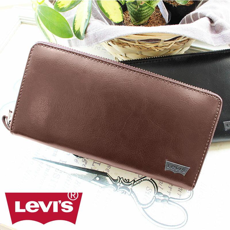 リーバイス Levi's ラウンドファスナー長財布 財布 11128203