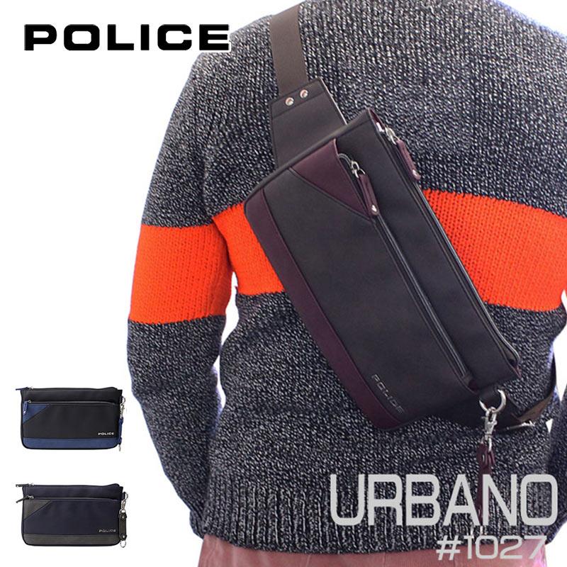 ポリス POLICE ボディバッグ URBANO アルバーノ 1027/PA-62001