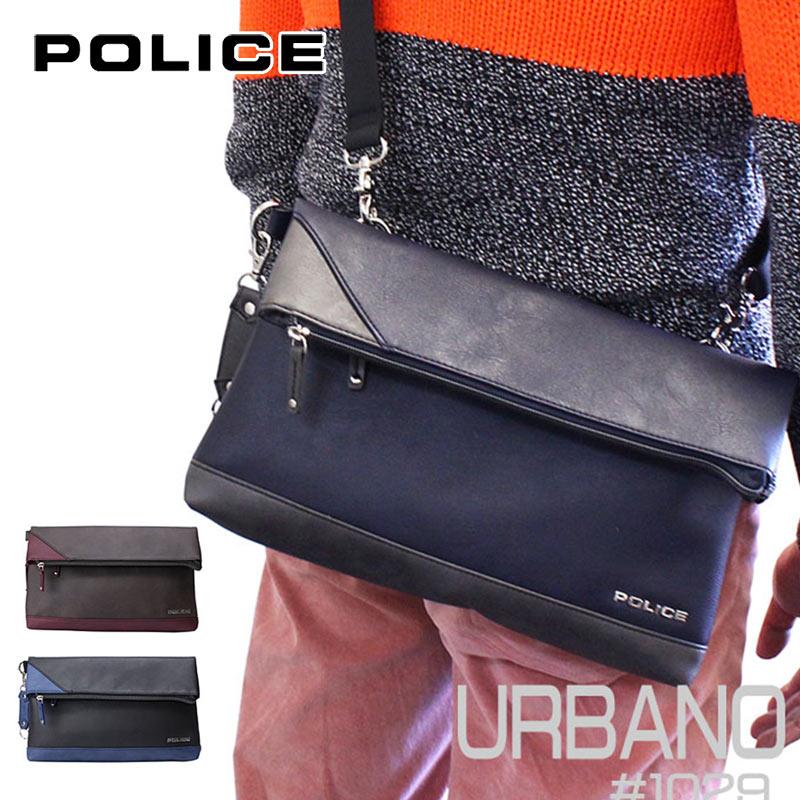 ポリス POLICE クラッチバッグ ショルダーバッグ URBANO アルバーノ 1029/PA-62003