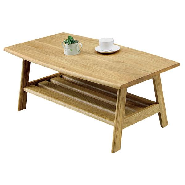 オーク リビングテーブル センターテーブル 幅100cm テーブル コーヒーテーブル ローテーブル ナチュラル 木製 北欧 モダン 送料無料 ワンルーム 一人暮らし 新生活 1K