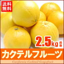 カクテルフルーツ(約2.5kg)アメリカ産 グレープフルーツ オレンジ 送料無料