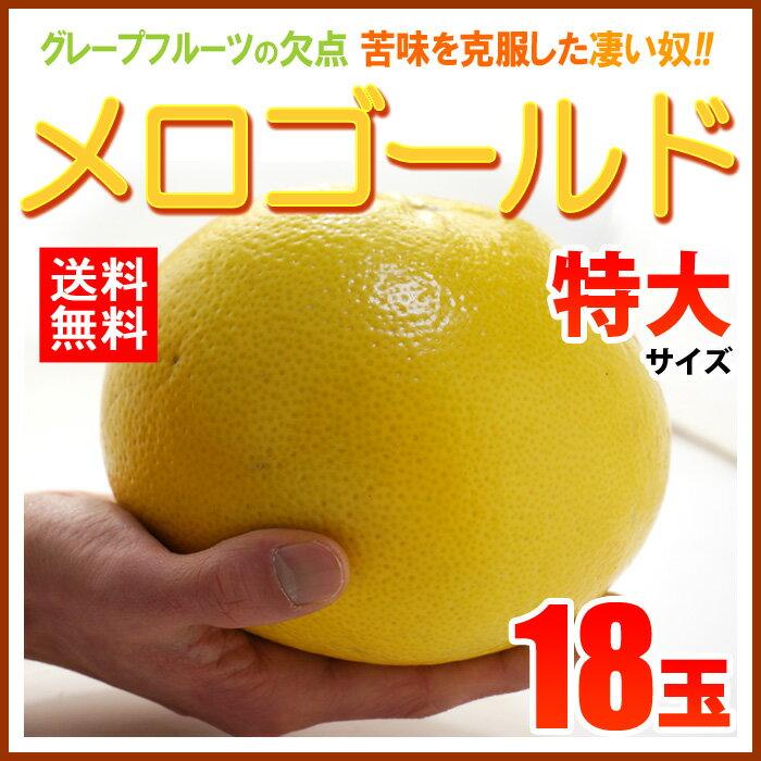 完熟メロゴールド 特大(18玉/約15kg)アメリカ産 グレープフルーツ メローゴールド 送料無料