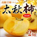 太秋柿(約2kg)熊本/愛媛/福岡産 たいしゅうがき 高級甘柿 送料無料