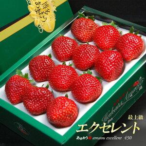 あまおうEX(約450g)福岡産 あまおう苺 あまおうエクセレント 博多 いちご 苺 イチゴ 甘王 食品 フルーツ 果物 いちご 送料無料