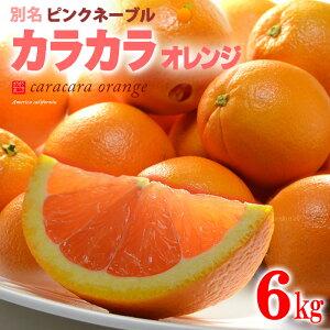 カラカラオレンジ(約6kg)アメリカ産 ネーブル オレンジ ピンクネーブル 食品 フルーツ 果物 オレンジ カラカラ 送料無料