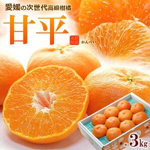 甘平 みかん 2-3L(約3kg)愛媛産 秀品 ギフト 甘平 みかん 贈答用 食品 フルーツ 果物 みかん 甘平(かんぺい) 柑橘 送料無料