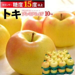 トキ林檎プレミアム15°(約10kg)青森産 糖度15度以上選果 リンゴ 林檎 食品 フルーツ 果物 りんご 送料無料