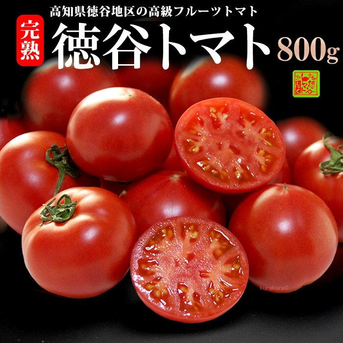 徳谷トマト(約800g)高知産 塩トマト フルーツトマト とまと 高糖度 甘い 食品 野菜 きのこ トマト 送料無料