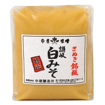 サヌキ白味噌500g袋入り