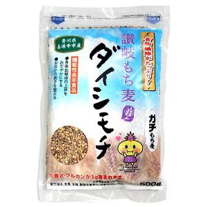 讃岐 もち麦 ダイシモチ 500g 香川県産機能性表示食品 だいしもち ダイシモチ麦 食物繊維 β-グルカン 国産 モチ麦 健康長寿 混ぜご飯 健康 ヘルシー
