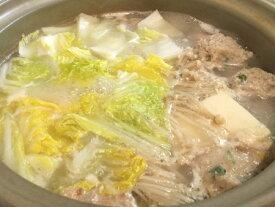 築地 鳥藤 博多一番どり水炊きセット 明治40年から続く鳥藤自慢の白湯スープも味わう!最高級のお味をご家庭で!贈り物・ギフトとしても人気です! (骨付きぶつ切り・骨なしぶつ切り・つみれ・白湯スープ。約4人前)