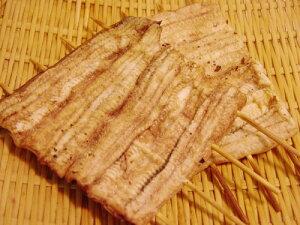 鰻の白焼き(約120g×2串・たれ60cc付) 山葵醤油をつければ口の中に広がる旨み!タレをつけて焼けば本格的な蒲焼きに!(焼いたものを真空パック・冷凍・冷蔵品と同梱可) (うなぎ・国産・愛