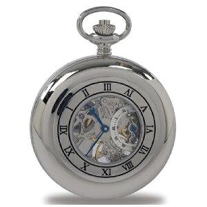 ラポート.懐中時計.提げ時計.ポケットウオッチ.ふた両面開き(手巻 / イギリス)送料無料