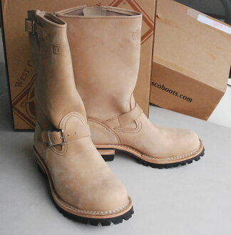 Wesco / WESCO boss BOSS burlap 9.5 E スティールトゥー Engineer Boots size: 9.5 inches / 27.5 cm