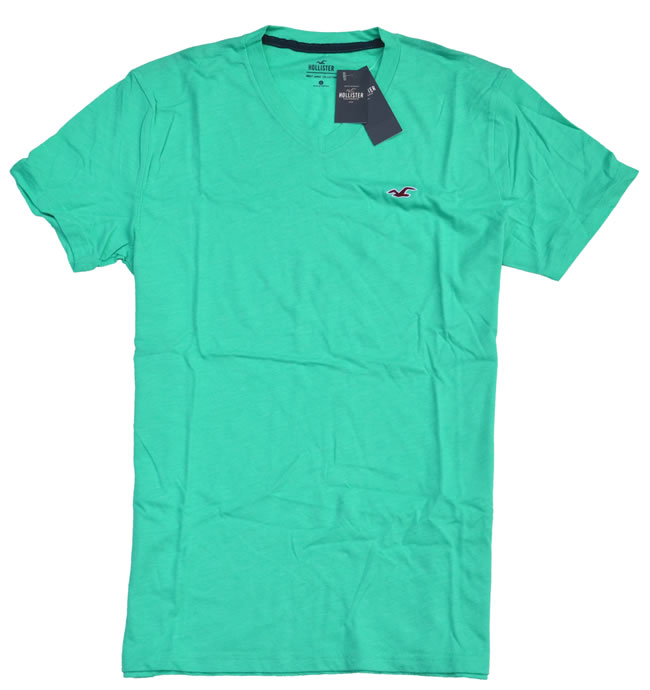 ホリスター / Hollister ◆正規品・本物◆メンズ Tシャツ◆ライトグリーン【あす楽対応】【正規品】