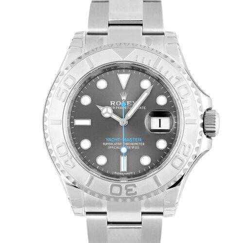ロレックス ROLEX ヨットマスター 116622 PT×SS 40mm ダークロジウム【送料無料】【新品】【メンズ】【腕時計】【本店_C4243】