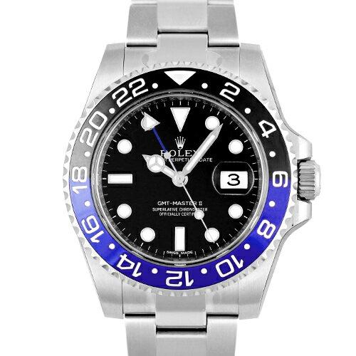 ロレックス ROLEX GMTマスターII 116710BLNR SS 40mm 黒 ブラック 【送料無料】【新品】【メンズ】【腕時計】【本店_S2219】