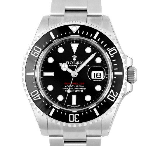 ロレックス ROLEX シードゥエラー126600 SS 黒 ブラック 43mm【送料無料】【新作】【新品】【メンズ】【腕時計】【本店_S2153】