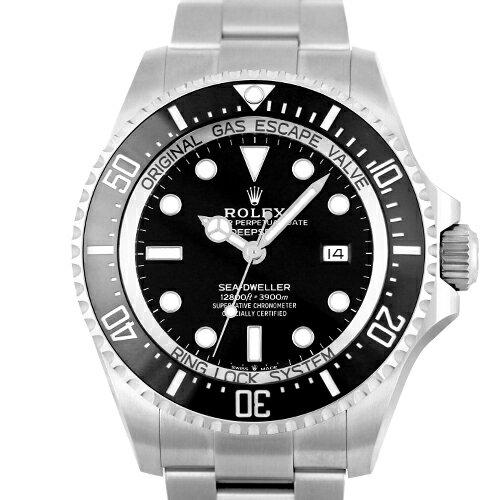 ロレックス ROLEX 新型シードゥエラー ディープシー SS 黒 ブラック 126660 44mm【送料無料】【新品】【メンズ】【腕時計】【本店_S2369】