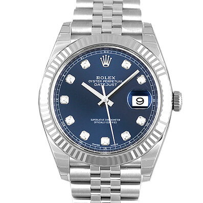 ロレックス ROLEX デイトジャスト41 126334G WG×SS 41mm ブルー【送料無料】【新品】【メンズ】【腕時計】 【本店_C4415】