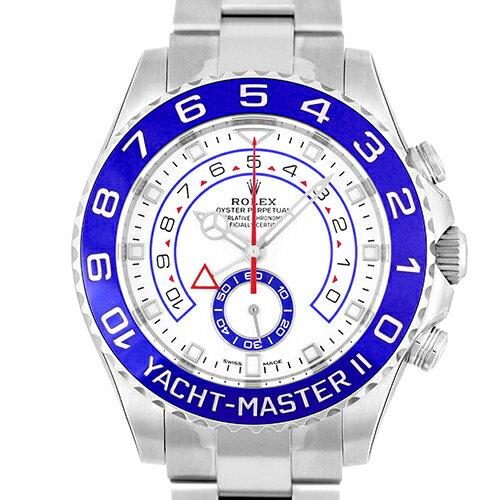 ロレックス ROLEX ヨットマスターII SS 白 ホワイト 44mm 116680【送料無料】【新品】【メンズ】【腕時計】【本店_C4396】