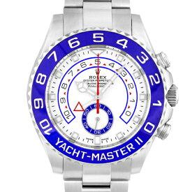 【新ダイヤル】ロレックス ROLEXヨットマスター2116680 SS44mm ホワイト文字盤【送料無料】【新品】【メンズ】【腕時計】【本店_59470】