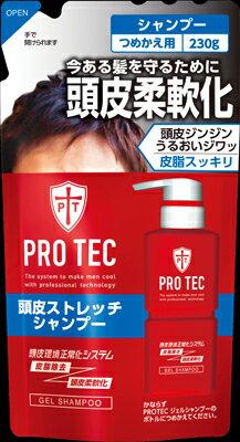 ライオン PROTEC頭皮ストレッチシャンプー つめかえ用 230g